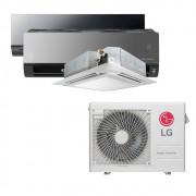 Ar Condicionado Multi Split Inverter LG  24.000 BTUS Quente/Frio 220V +1x HW  Art Cool 12.000 BTUS +1x Cassete 4 Vias  12.000 BTUS +1x HW  Art Cool com Display e Wi-Fi 12.000 BTUS
