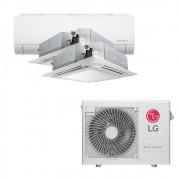 Ar Condicionado Multi Split Inverter LG 24.000 BTUS Quente/Frio 220V +1x High Wall LG Com Display 9.000 BTUS +2x Cassete 4 Vias LG 12.000 BTUS