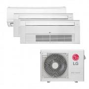 Ar Condicionado Multi Split Inverter LG 24.000 BTUS Quente/Frio 220V +1x High Wall LG Libero 7.000 BTUS +2x Cassete 1 Via LG 9.000 BTUS