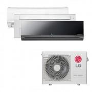 Ar Condicionado Multi Split Inverter LG 24.000 BTUS Quente/Frio 220V +1x High Wall LG Libero 7.000 BTUS +1x Cassete 1 Via LG 9.000 BTUS +1x High Wall LG Art Cool 18.000 BTUS