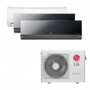 Ar Condicionado Multi Split Inverter LG 24.000 BTUS Quente/Frio 220V +1x High Wall LG Libero 7.000 BTUS +2x High Wall LG Art Cool 9.000 BTUS