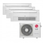 Ar Condicionado Multi Split Inverter LG 24.000 BTUS Quente/Frio 220V +2x Cassete 1 Via LG 9.000 BTUS +1x Cassete 1 Via LG 18.000 BTUS