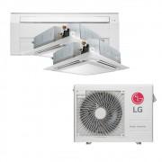 Ar Condicionado Multi Split Inverter LG 24.000 BTUS Quente/Frio 220V +2x Cassete 4 Vias LG 9.000 BTUS +1x Cassete 1 Via LG 18.000 BTUS