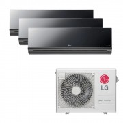 Ar Condicionado Multi Split Inverter LG 24.000 BTUS Quente/Frio 220V +2x High Wall LG Art Cool 9.000 BTUS +1x High Wall LG Art Cool 12.000 BTUS