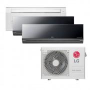 Ar Condicionado Multi Split Inverter LG 24.000 BTUS Quente/Frio 220V +2x High Wall LG Art Cool 9.000 BTUS +1x Cassete 1 Via LG 18.000 BTUS