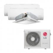 Ar Condicionado Multi Split Inverter LG 24.000 BTUS Quente/Frio 220V +2x High Wall LG Com Display 9.000 BTUS +1x Cassete 4 Vias LG 18.000 BTUS