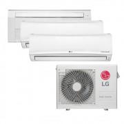 Ar Condicionado Multi Split Inverter LG 24.000 BTUS Quente/Frio 220V +2x High Wall LG Libero 7.000 BTUS +1x Cassete 1 Via LG 18.000 BTUS