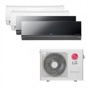 Ar Condicionado Multi Split Inverter LG 30.000 BTUS Quente/Frio 220V +2x High Wall LG Libero 7.000 BTUS +1x High Wall LG Art Cool 9.000 BTUS +1x High Wall LG Art Cool 12.000 BTUS