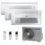 Ar Condicionado Multi Split Inverter Samsung FJM 23.000 BTUS Quente/Frio 220V + 2x Cassete 1 Via Wind Free 9.000 BTUS + 1x High Wall Maldives 18.000 BTUS