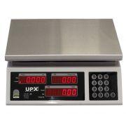 Balança Digital UPX EA-20 Com Bateria Display Duplo 20kg Bivolt