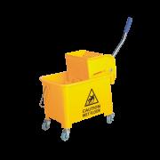 Carro Plástico Para Limpeza Profissional Espremedor 1 Balde 20L Goedert