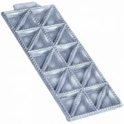 Forma Em Alumínio Para Ravioli Anodilar 20 Cavidades