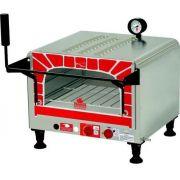 Forno Mini Chef Baixa Pressão Gás GLP Inox 40 Litros PRP-400G ST Progás