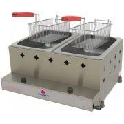 Fritadeira Inox Gás GLP 5Kg Style PR-20 G Progás