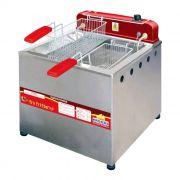 Fritador Progás Elétrico 13 Litros Água e Óleo Inox PR-100E 220V