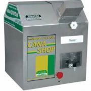 Moenda Cana Elétrica 200 L/H Rolo Em Inox 1CV Cana Shop 220V RI-200 MAQTRON
