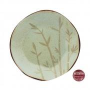 Prato Fundo Em Porcelana 22,5cm Ryo Bambu Oxford