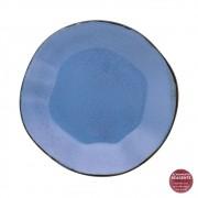Prato Fundo Em Porcelana 22,5cm Ryo Santorini Oxford