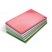 Tábua Plástica Para Corte Com Canaleta Vermelho 32x24x01cm SOLRAC