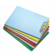 Tábua Plástica Para Corte Com Pegador Vermelho 40x30x1,5cm SOLRAC