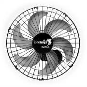 Ventilador de Parede Loren Sid Tufão 50 cm Preto 127/220V Bivolt