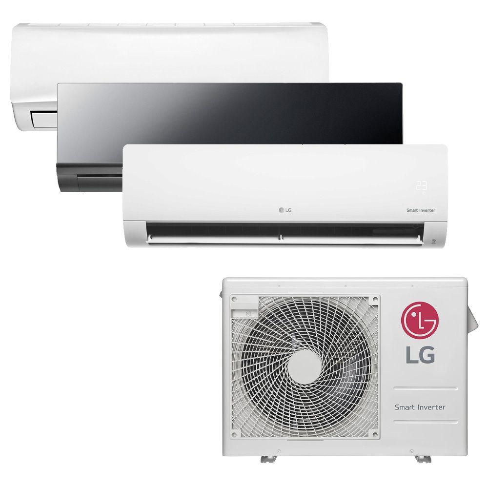 Ar Condicionado Multi Inverter LG 24.000 BTUS Quente/Frio 220V + 1x High Wall Libero 7.000 BTUS + 1x Art Cool 9.000 BTUS + 1x High Wall Com Display 9.000 BTUS