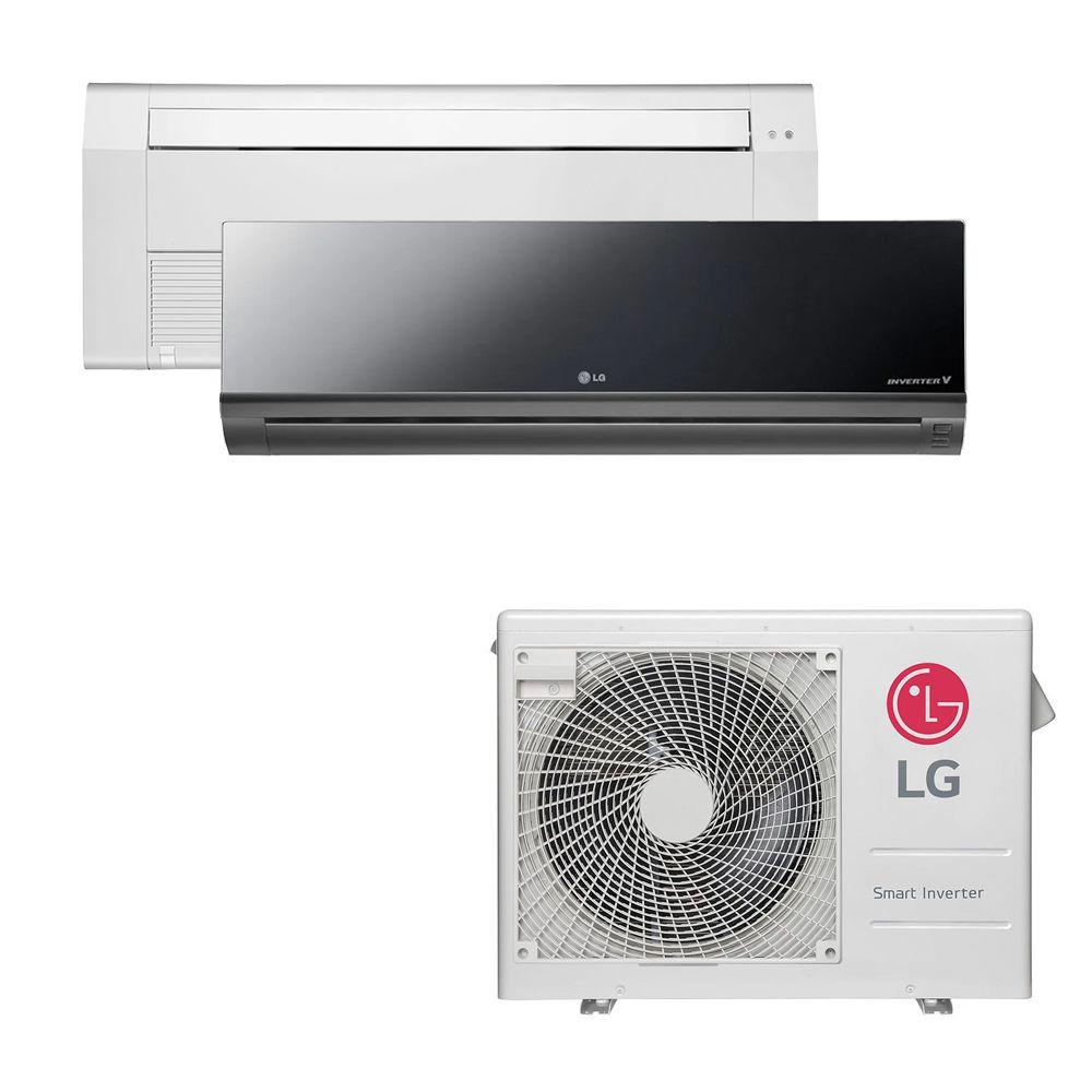 Ar Condicionado Multi Split Inverter LG 18.000 BTUS Quente/Frio 220V +1x Cassete 1 Via LG 9.000 BTUS +1x High Wall LG Art Cool 12.000 BTUS