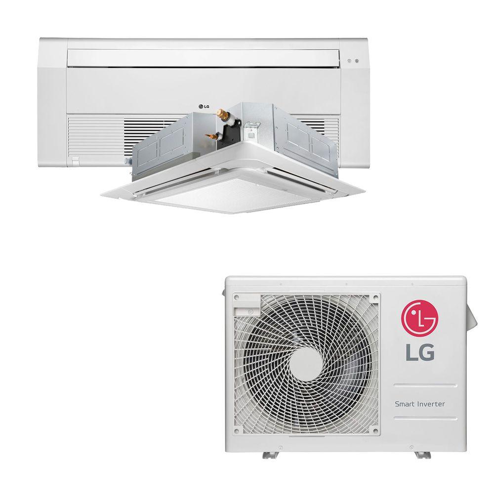 Ar Condicionado Multi Split Inverter LG 18.000 BTUS Quente/Frio 220V +1x Cassete 1 Via LG 9.000 BTUS +1x Cassete 4 Vias LG 12.000 BTUS