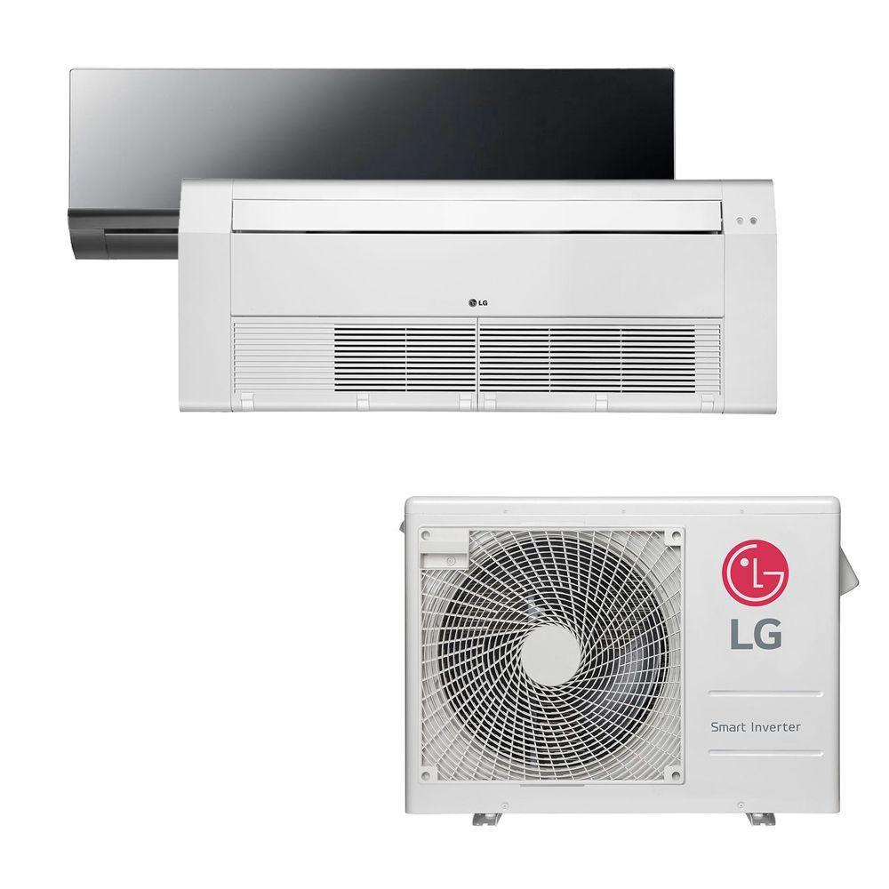 Ar Condicionado Multi Split Inverter LG 18.000 BTUS Quente/Frio 220V +1x High Wall LG Art Cool 9.000 BTUS +1x Cassete 1 Via LG 12.000 BTUS
