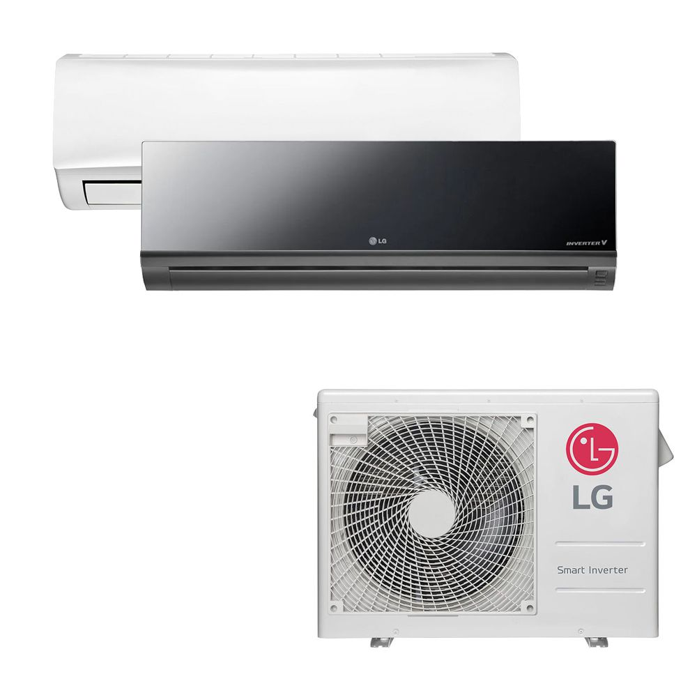 Ar Condicionado Multi Split Inverter LG 18.000 BTUS Quente/Frio 220V +1x High Wall LG Libero 7.000 BTUS +1x High Wall LG Art Cool 12.000 BTUS