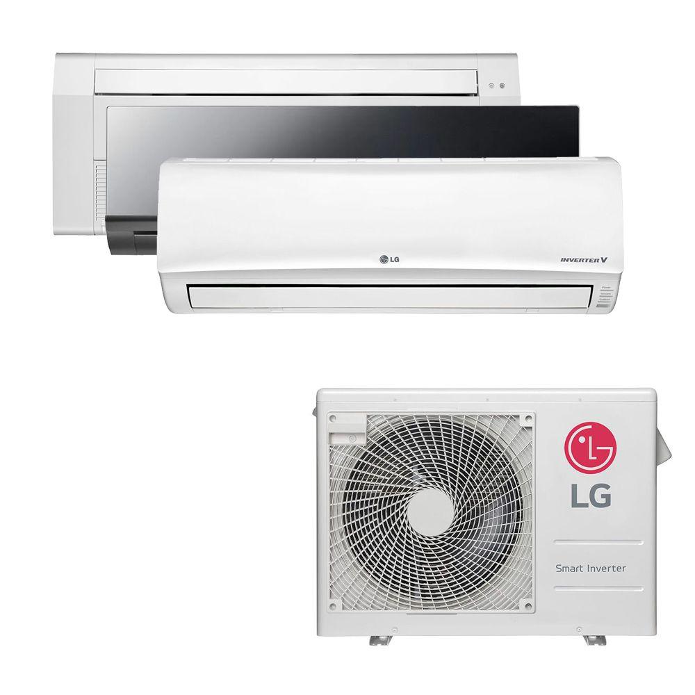 Ar Condicionado Multi Split Inverter LG 24.000 BTUS Quente/Frio 220V +1x Cassete 1 Via LG 9.000 BTUS +1x High Wall LG Art Cool 9.000 BTUS +1x High Wall LG Libero 18.000 BTUS