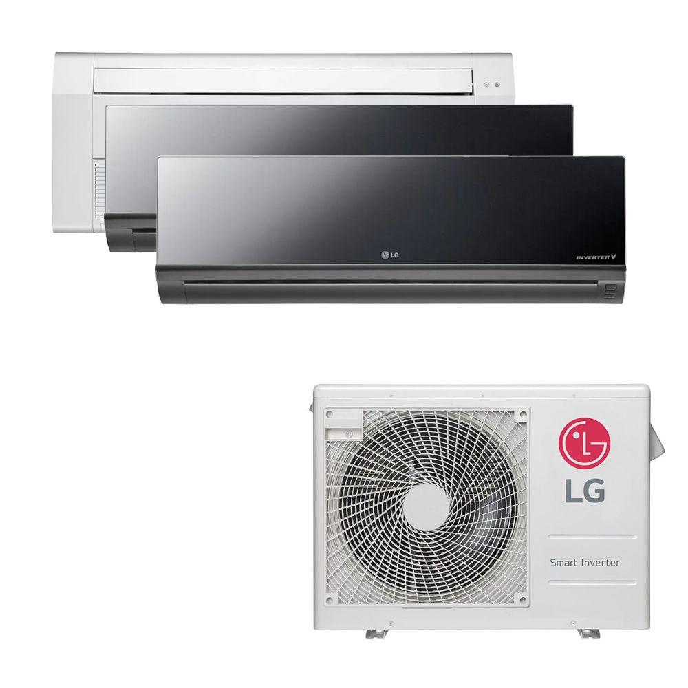 Ar Condicionado Multi Split Inverter LG 24.000 BTUS Quente/Frio 220V +1x Cassete 1 Via LG 9.000 BTUS +2x High Wall LG Art Cool 12.000 BTUS
