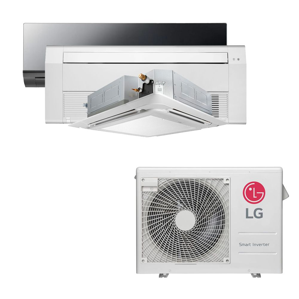 Ar Condicionado Multi Split Inverter LG 24.000 BTUS Quente/Frio 220V +1x High Wall LG Art Cool 9.000 BTUS +1x Cassete 1 Via LG 12.000 BTUS +1x Cassete 4 Vias LG 12.000 BTUS