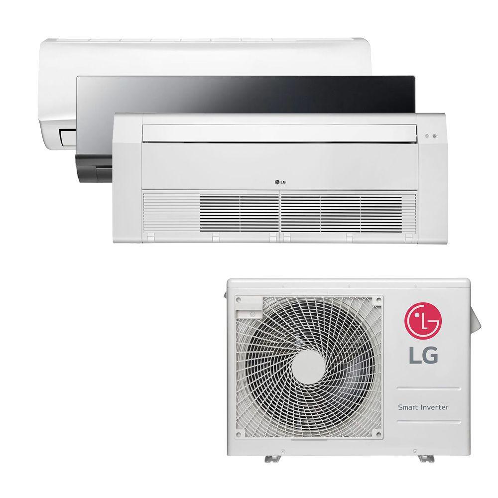 Ar Condicionado Multi Split Inverter LG 24.000 BTUS Quente/Frio 220V +1x High Wall LG Libero 7.000 BTUS +1x High Wall LG Art Cool 9.000 BTUS +1x Cassete 1 Via LG 12.000 BTUS