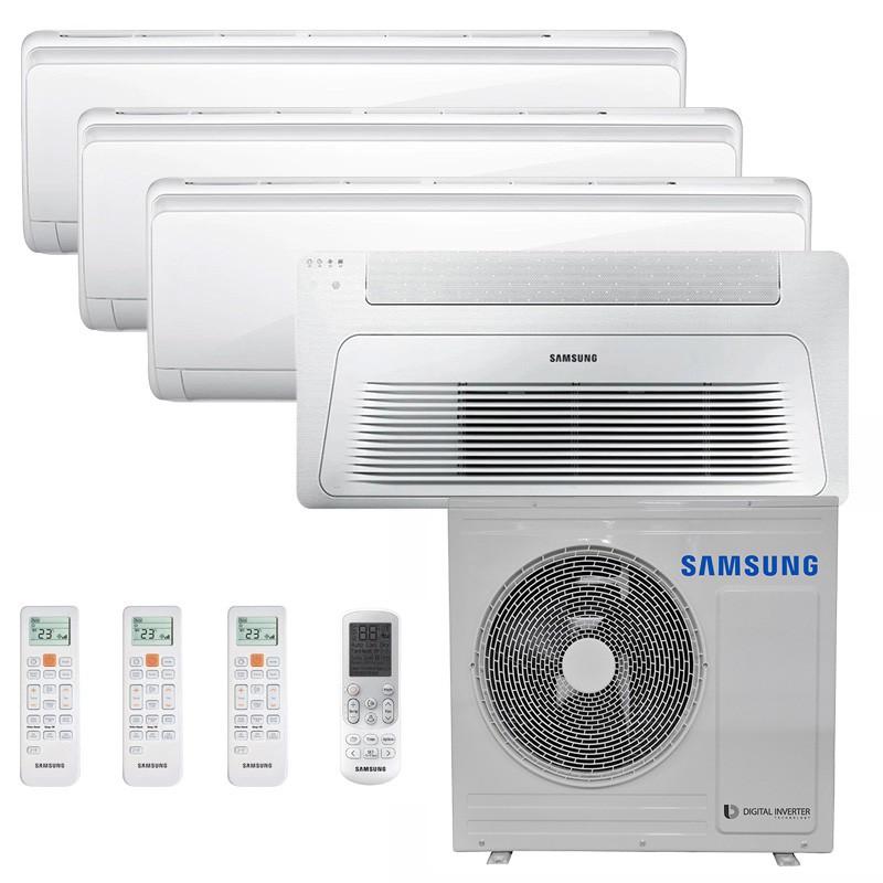Ar Condicionado Multi Split Inverter Samsung FJM 28.000 BTUS Q/F 220V +2x High Wall Maldives 9.000 BTUS +1x Cassete 1 Via Wind Free 12.000 BTUS +1x High Wall Maldives 12.000 BTUS