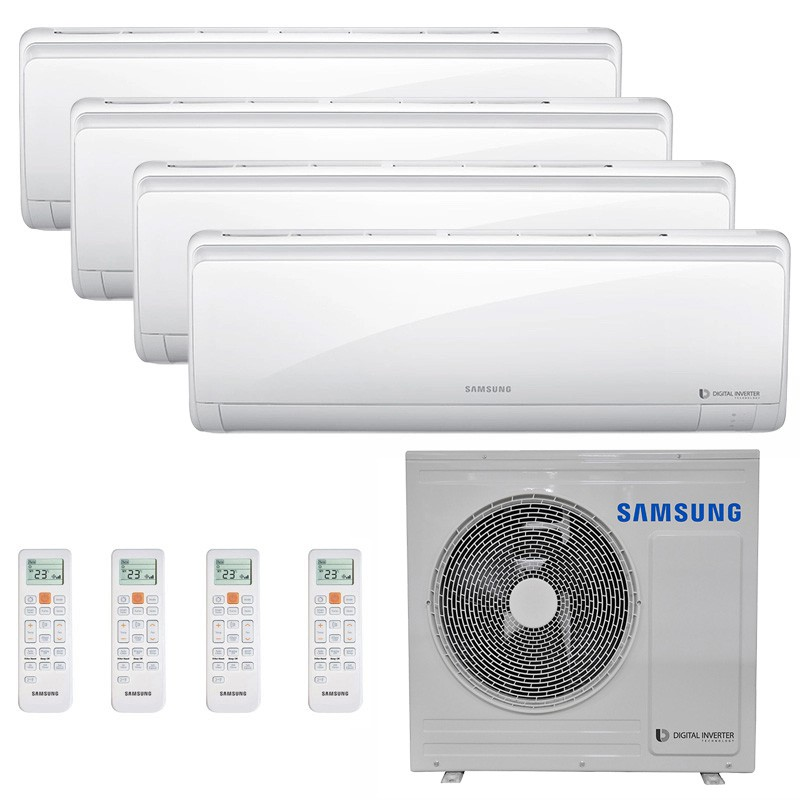 Ar Condicionado Multi Split Inverter Samsung FJM 28.000 BTUS Q/F 220V +2x High Wall Maldives 9.000 BTUS +2x High Wall Maldives 12.000 BTUS