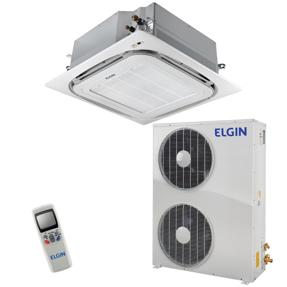 Ar Condicionado Split Cassete Elgin 360º Atualle Eco 60.000 BTUs Frio 380v