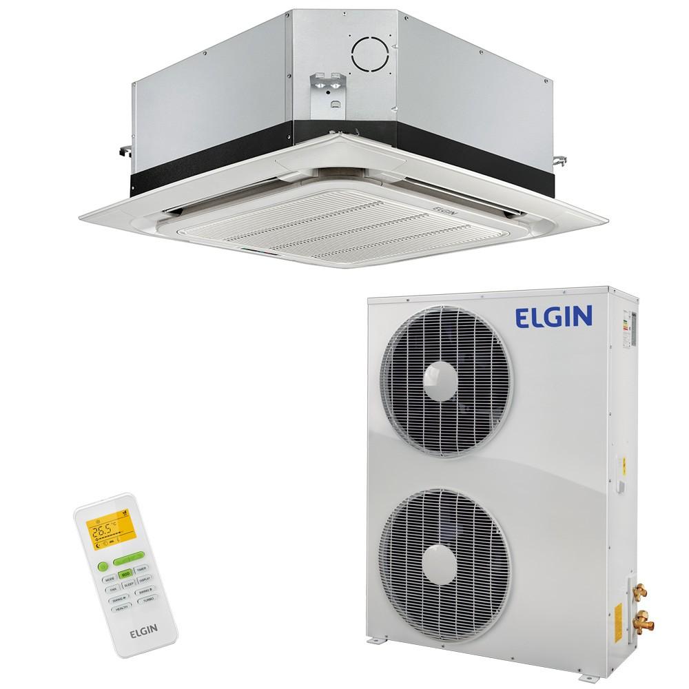 Ar Condicionado Split Cassete Elgin 360º Eco 48.000 BTUs Frio 380v