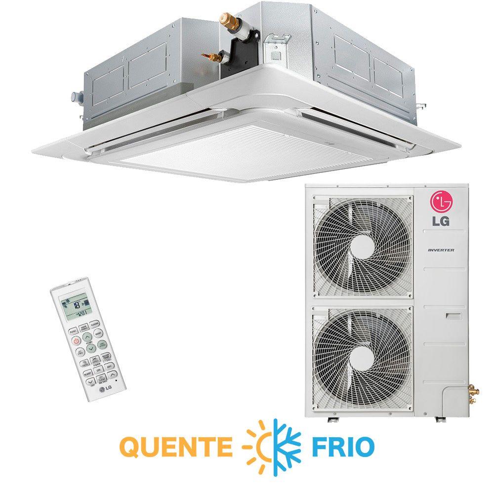 Ar Condicionado Split Cassete Inverter LG 50.000 BTUs Quente/Frio 220v