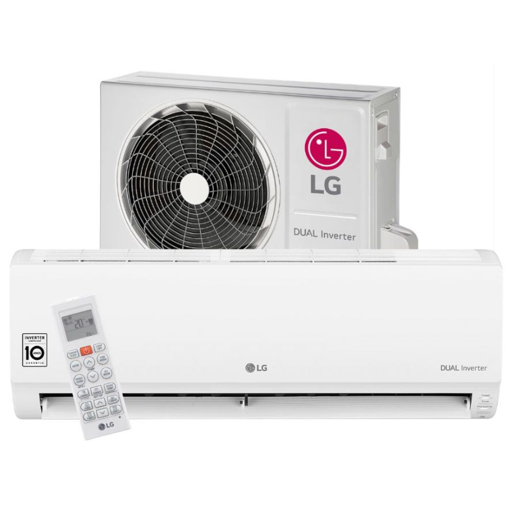 Ar Condicionado Split High Wall Dual Inverter LG 9.000 BTUs Frio 220v