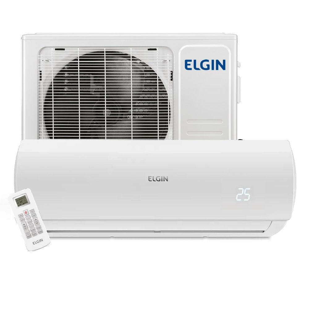 Ar Condicionado Split High Wall Elgin Eco Logic 24.000 BTUs Frio 220v