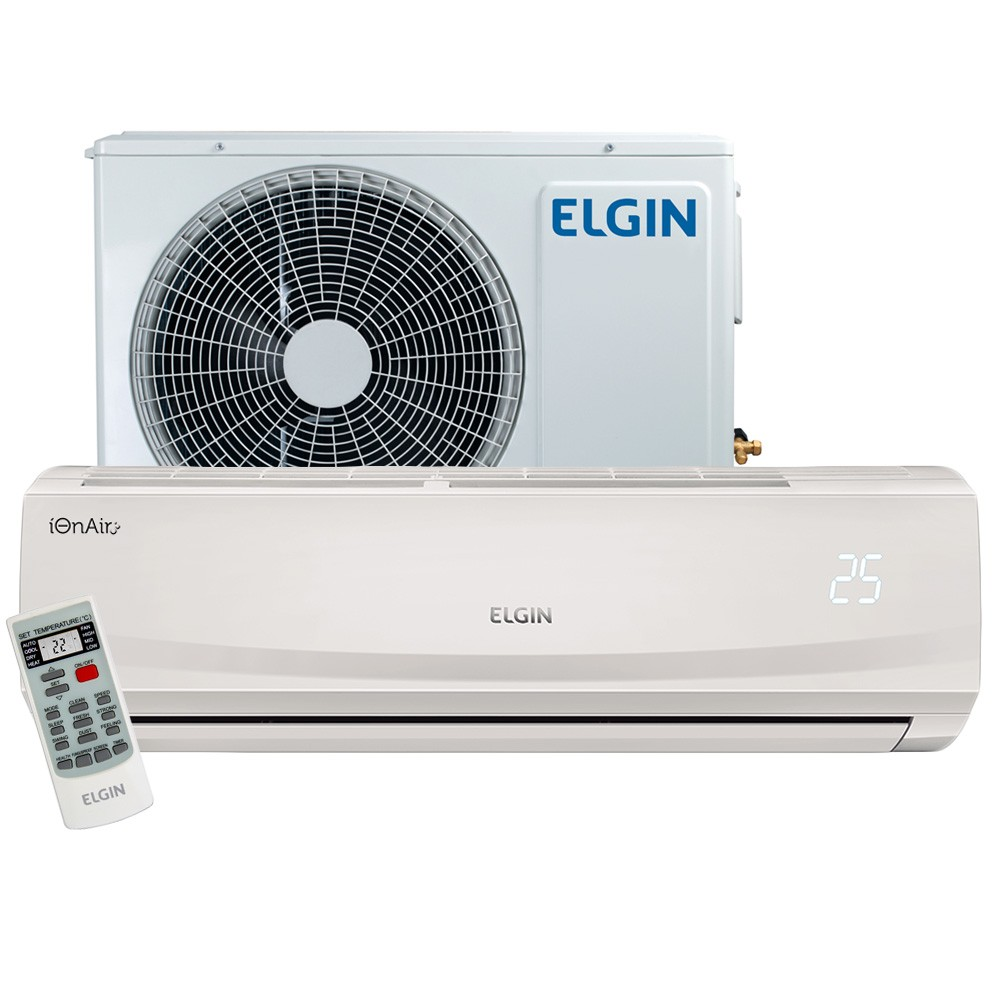 Ar Condicionado Split High Wall Elgin Eco Plus 18.000 BTUs Frio 220v