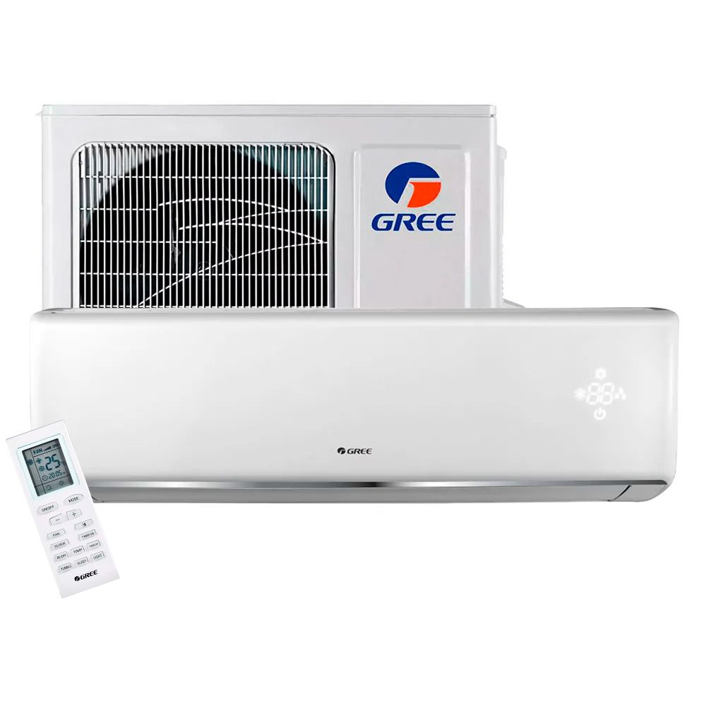 Ar Condicionado Split High Wall Gree Eco Garden 18.000 BTUs Frio 220v