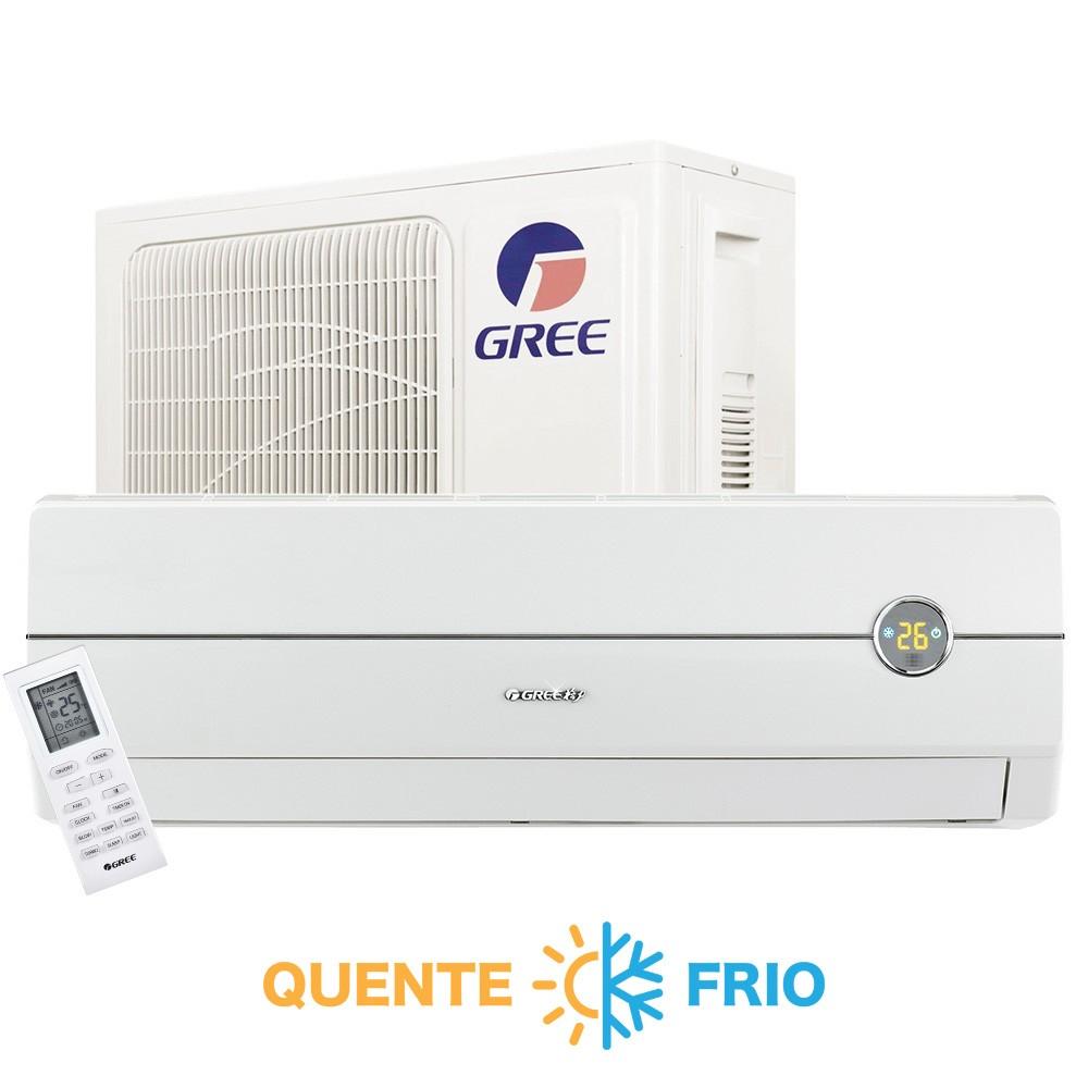 Ar Condicionado Split High Wall Gree Novo Garden 24.000 BTUs Quente/Frio 220v