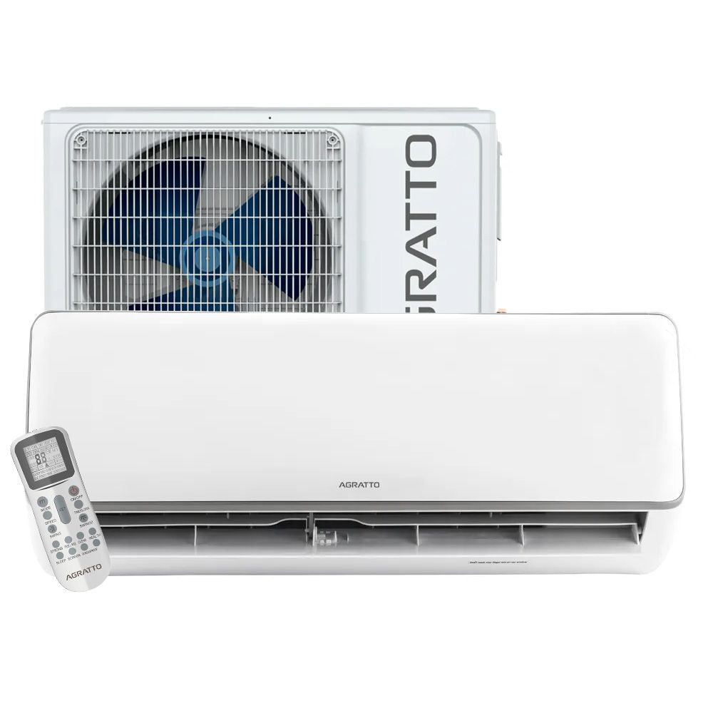 Ar Condicionado Split High Wall Inverter Agratto Neo 12.000 BTUs Frio 220v