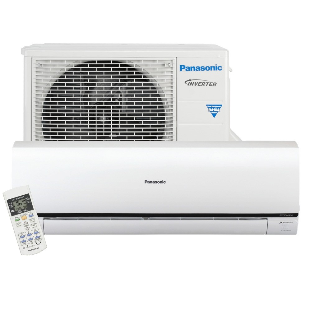 Ar Condicionado Split High Wall Inverter Panasonic Econavi 12.000 BTUs Frio 220v