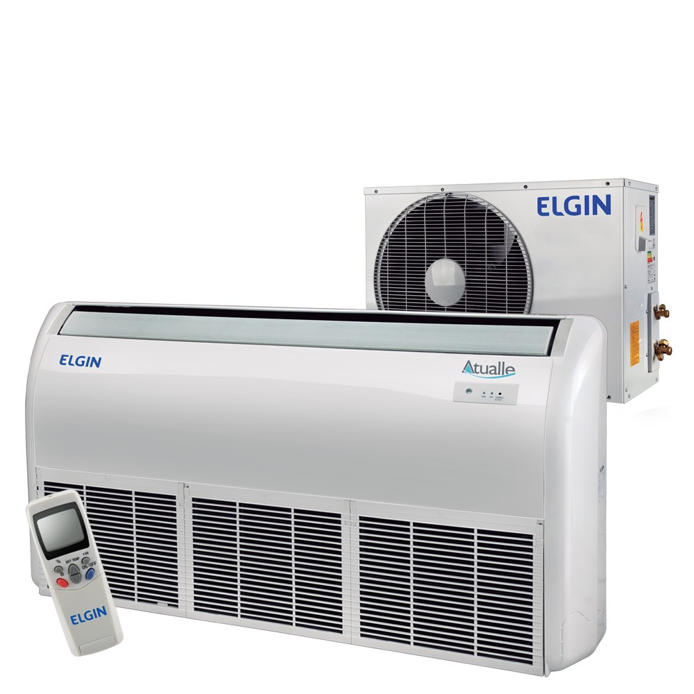 Ar Condicionado Split Piso Teto Elgin Atualle Eco 36.000 BTUs Frio 220v