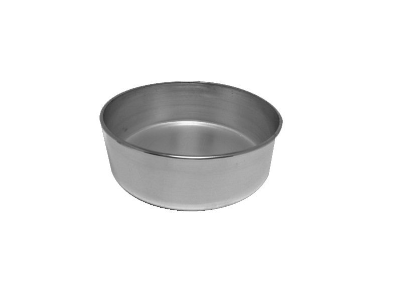 Assadeira Redonda Alta 100% Alumínio Nº22 Balduino