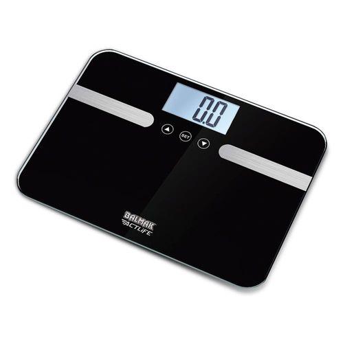 Balança de Vidro Digital Balmak SlimPro180 Análise Corporal 9908