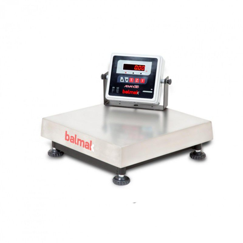Balança Digital Balmak Plataforma 300Kg Inox BK-300I1